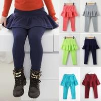 free shipping 2014 new autumn girl skirt and trousers girls leggings skirt