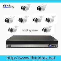8 channel CCTV System Camera NVR 8CH HD 720P NVR Kit waterproof IP Camera with IR Night Vision cctv kit onvif  Cloud P2P