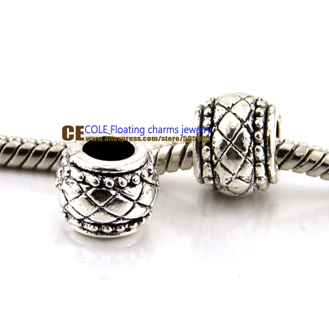 New bracelet silver 925 charms large hole Beads European Beads Fits pandora Charm Bracelets necklaces pendants