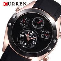 Free shipping Brand Watch Men Luxury 2014 Military sport silicone watches 10M waterproof analog quartz movement original battery