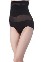 2014 Women High Waist Modal Tummy Control Body Shaper XJ1019 lady Briefs Slimming Panties Knickers Trimmer Tuck black, skin