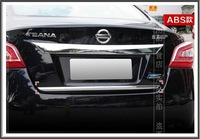 Stainless Steel Rear Trunk Trim  Fit For 2013 Teana