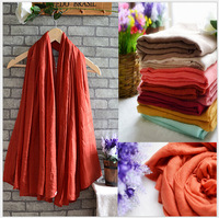 180cm*150cm Fashion Vintage Women's Cotton And Linen Scarf Brand winter Wrap Cotton Shawl Pashmina Solid Scarves Free Shipping