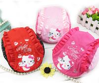 New 2014 Autumn 2~5 Years Embroidery Hello Kitty Children kids Hat Beret