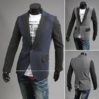 2014 new arrivalTop Quality Mens fashion casual Blazer slim fit Jacket casual Suits Coat Button suit men Formal suit jacket 4048