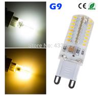 Wholesale - G9 5W 3014 SMD 64 LED Crystal Lamp 220V 110V Corn Bulb Droplight Chandelier COB Spotlight Cool/Warm White 360 degree
