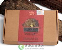 Old comrades 2011 Yunnan ecological pu 'er tea Trees Tea bricks 500g Cooked tea