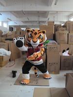 Eva shaping super soft super soft wool mascot cartoon clothes Kung Fu Panda mascot costume