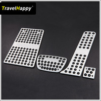 Hot sale Aluminum Alloy AT car pedal  pad  For Toyota Reiz MARK-X