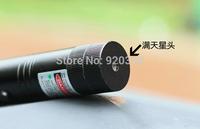 Wholesale - High-power 10000mw 532nm Green Laser Pointers   adjustable star burn black match+pop balloon +free shipping