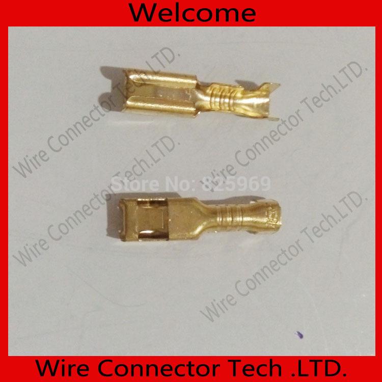 1000Pcs/lot full copper 2.8mm Female Crimp terminal Connectors 2.8mm terminals,car connector Spade terminal(China (Mainland))