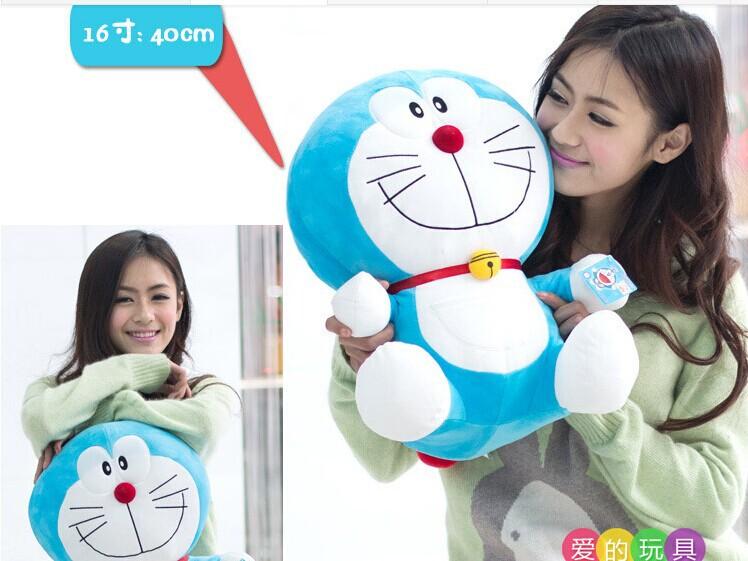 Около 40 см смайлик выражение Doraemon плюшевые игрушки прекрасный doraemon куклы бросить подушку подарок w5786