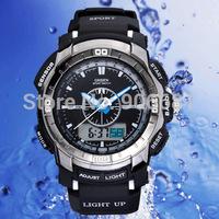 EW style original OHSEN two movement F1 quartz electronic fashion casual sport watch men Wrist watch 30M waterproof dz