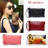 10 Colors Popular European Crocodile Pattern Clutch Women's Trendy Handbags PU Leather Women Clutch Bag Purse WJ1034