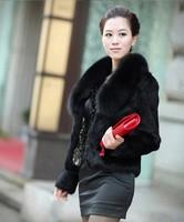 Women's women's faux fur coat short design fox fur picao