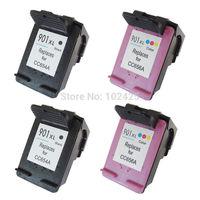 2PK Black ink cartridge +2pk Color Ink Cartridge For HP 901XL