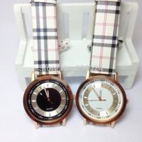 500pcs/lot New 2014 Hot Sale Quartz Wristwatches Retro Fashion Casual Joker Lattice Leather Strap Watches Women Dress Watch