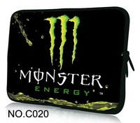 """Cool Green Soft Sleeve Case Bag Cover For 9.7"""" 10.1"""" 11.6"""" 12"""" 13.3"""" 14"""" 15"""" 15.6"""" Laptop Notebook PC"""