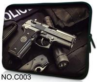"Gun Notebook Bag Laptop Sleeve Case For 9.7"" 10.1"" 11.6"" 12"" 13.3"" 14"" 15"" 15.6"" Dell Lenovo HP Acer Sony ASUS Apple Alienware"