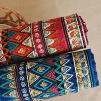 Bohemian cotton cloth table cloth curtain material published material Busha