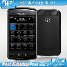 9500 original Unlocked Blackberry Storm 9500 GPS 3.2MP Camera Refurbished Smartphones free shipping