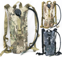 2.5 L Bladder Outdoors Tactical Military Water Hydration Carrier BackPack with Shoulder Strap camouflage