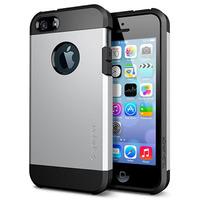 10pcs/lot A++ Quality SGP Spigen Tough Armor Case For iPhone 5 5S Shock Proof Hard Back Cover Skin