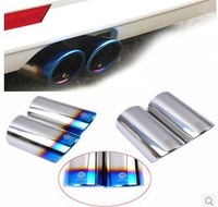 Free Shipping !car styling exhaust pipe for Volkswagen VW golf 6 golf 7 MK6 GTI POLO 2013 Tiguan Scirocco Sagitar 1.4T TSI