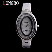 LONGBO brand fashion lady Rhinestones 100% ceramic quartz watch 30 m waterproof