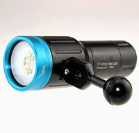 2014 NEW HOOZHU Light V13 CREE XML 2 LED Waterproof 100m Aluminum Dive Light