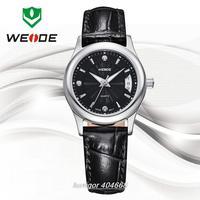 WEIDE New 2014 Luxury Brand Genuine Leather Strap Watches Women Dress Watches Quartz Clocks 3 ATM Water Resistant  WG93006