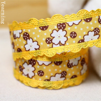 zd084 Wholesale 25MM 5 Colors Single-face Satin Ribbon Flower Fabric Tape Fit Gift Packaging DIY Headwear Hair accessories