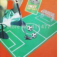 Toilet Football Game Set - Joke Funny Best Gift Present Soccer Sports Toy Set