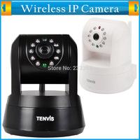 TENVIS Wireless/Wifi H.264 CMOS Indoor Mini CCTV HD 1280*720P Pan/Title P2P Network IP Camera 720P ONVIF Smart P2P Alarm Motion