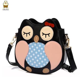 мешок женщин крест- тела сумка женщин сова сумка креста- тело мешок