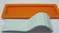 Beautiful Diamond lace 3D Silicone cake fondant Mould tools  Cookware Dining Bar Non-Stick Cake Decorating fondant mold--C312