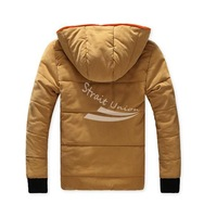 Men's Winter Warm Outdoor Thicken Short Hooded Coat Jacket Down Outwear 4Colors 4Size