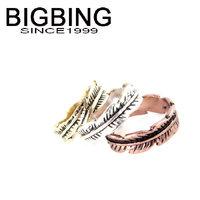 Bigbing jewelry fashion Alloy leaf finger ring 3 ring wedding ring nickel free Free shipping! B462