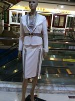 lady's skirt suits office suits  short skirt suit women's skirt suits 12591