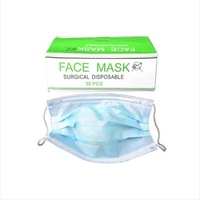 Health protection supplies disposable medical masks dust masks 2 layer non-woven masks 50 PACKER Post