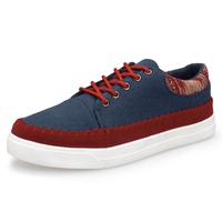 National trend men's fashion breathable comfortable platform shoes elevator shoes men's canvas casual shoes