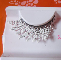 15 dx white Eye end stretched Strong foreign goods Christmas Halloween For false eyelashes    ymjm--147