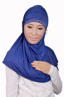 syf093 new style muslim beads hijab,islamic scarf free shipping by DHL,fast delivery,assorted colors