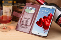 Wallet leather case Stand cover for LG Optimus G Pro 2 Mobile Phone Protection Case