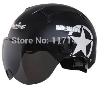 Dual Visor New Red Star Tactical Pilot Motorcycle Motorcross Racing Crash Helmet(China (Mainland))