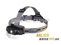Free Shipping Fenix HL55 multi-functional waterproof outdoor 18650 head lamp