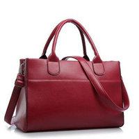 Hot 2014 Fashion Socialite Women Genuine Leather Handbags Famous Brand Cowhide Shoulder Bag Messenger Bag Totes clutch H001090