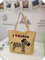 Women Handbags Totes shopping bag lady Print Desigual canvas bag Big colorful handbag for summer white Note Lovely Dog Tree