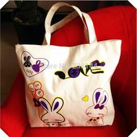 New Arrival Hello Kitty Canvas bag shoulder bag 5pcs/lot Free Shipping