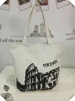 New wholesale custom canvas shoulder bag handbag on behalf of a variety of cute cartoon canvas bag Specials